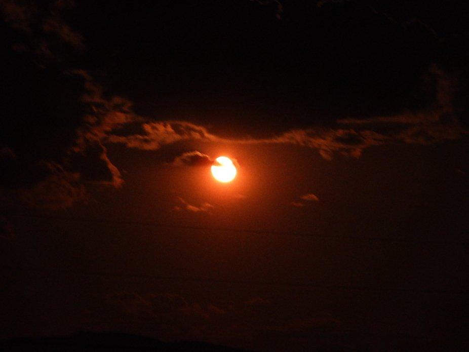 Burgandy Moon