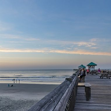 I just love the sunrises on the beach.