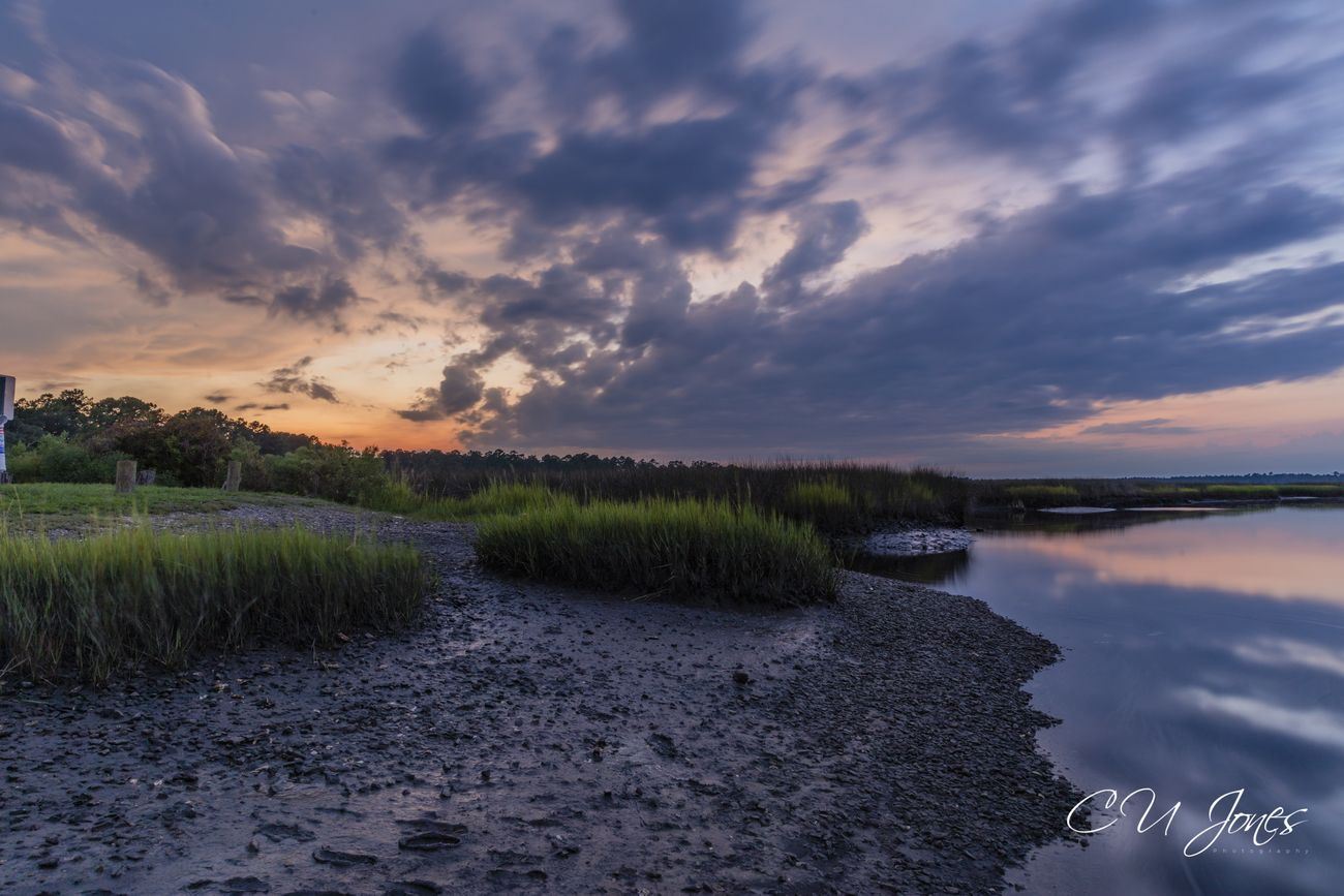 Sunset at Bulow Landing, Collecton, SC