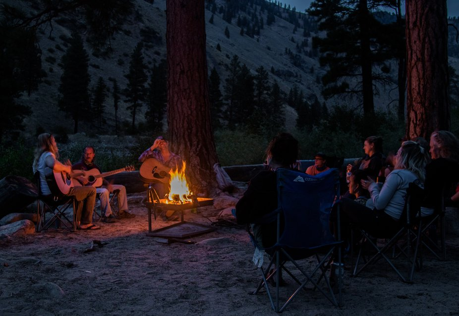 Great times with Idaho River Adventures and amazing musicians on the Middle Fork of the Salmon Ri...