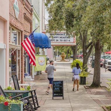 walking about Historic Georgetown, South Carolina