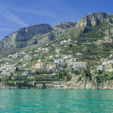 Taken along the coastline of Amalfi