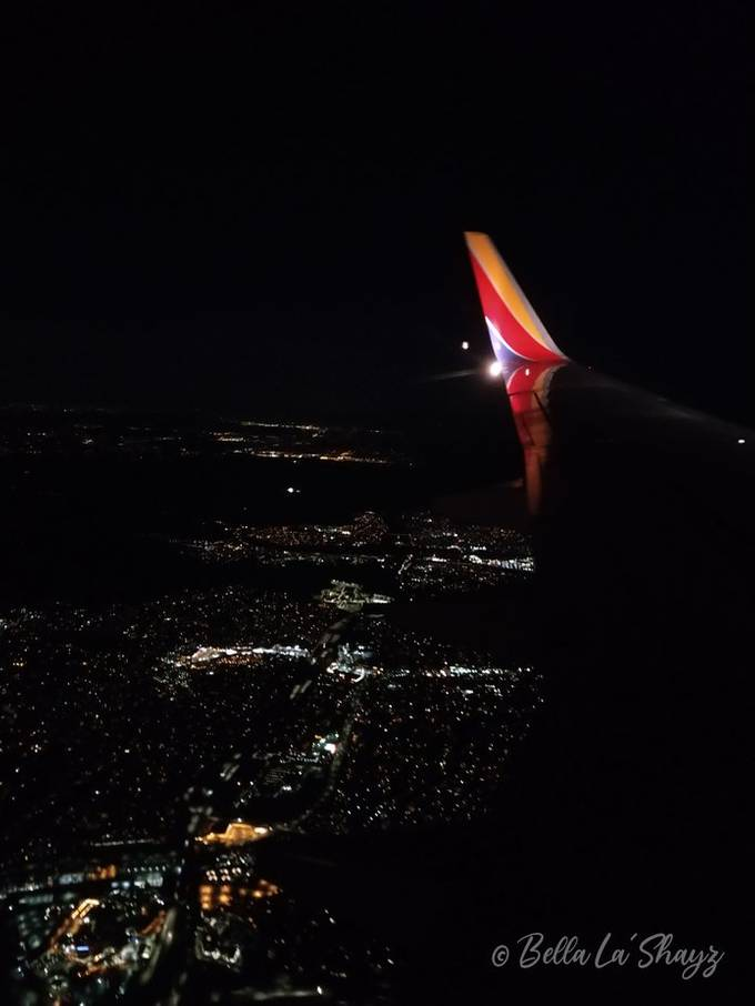 This photo was taken above the city of San Diego.