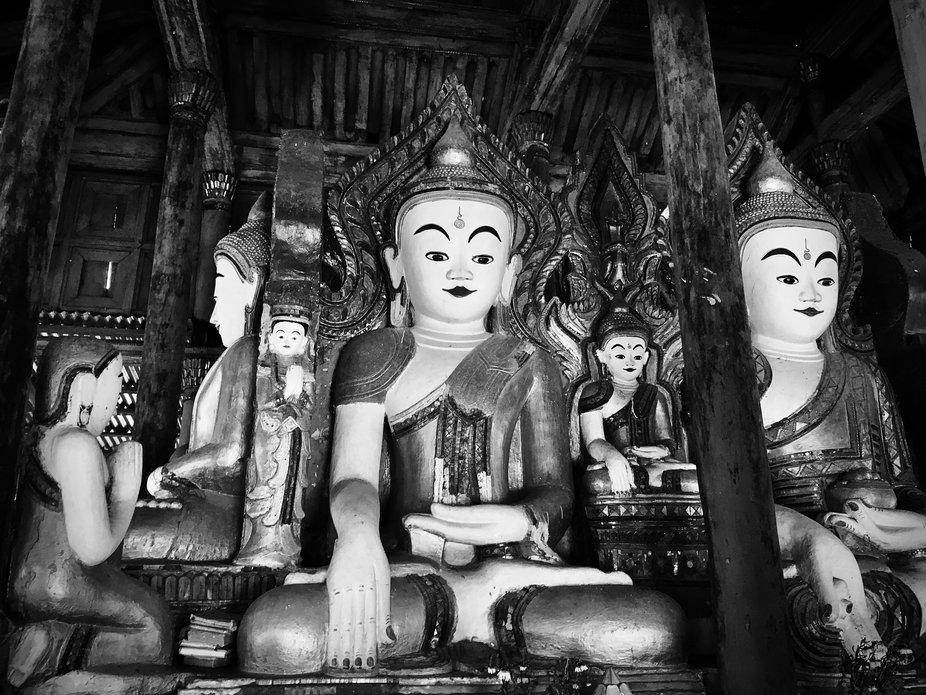 Old temple in Myanmar