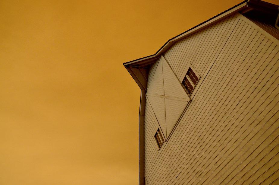 Gold Fire Skies_Barn