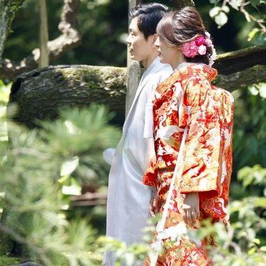 Japanese Wedding Couple 2