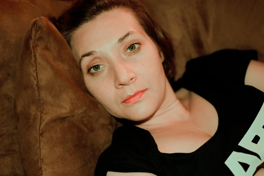 After a long day of work, the subject, with makeup long worn off, was subjected to my onslaught o...