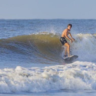 Folly Beach Surfer- Sept-2020
