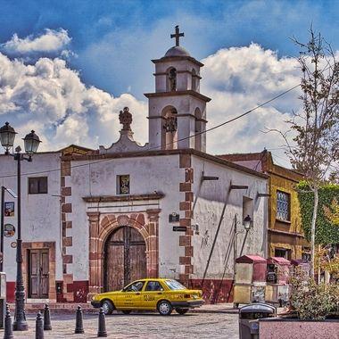Little church in Querentaro/ Mexico