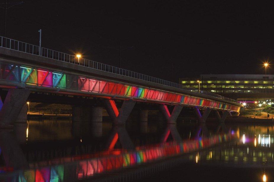 Rainbow Bridge- Tempe Town Lake