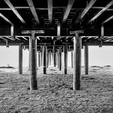 Pier down below