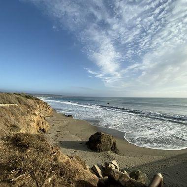 Scenic California coastline