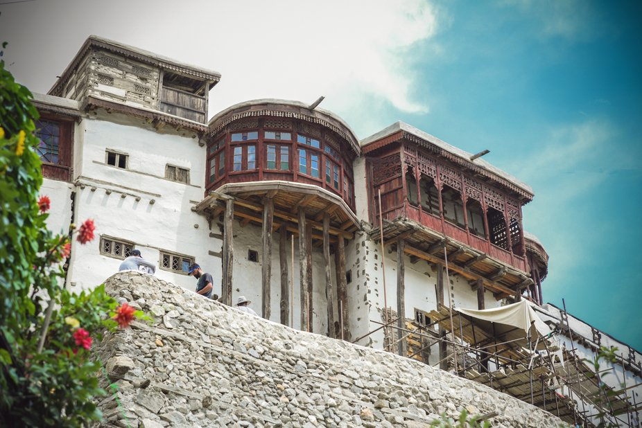 Baltit fort stands strong and high in the northern part of Pakistan called Hunza Valley.