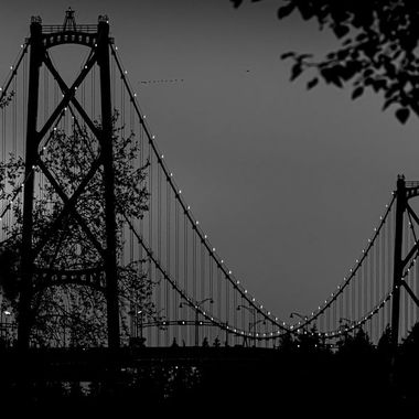 Lionsgate Bridge Vancouver, BC, Canada