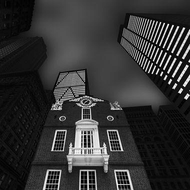 Original Boston State House Circa 1713 Bo