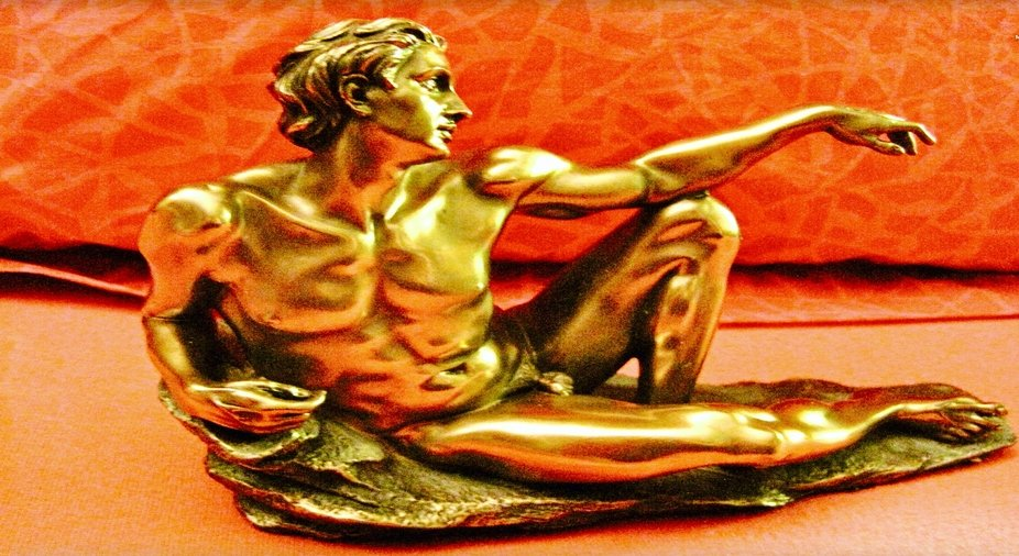 Adam, sculpture after Michelangelo's painting