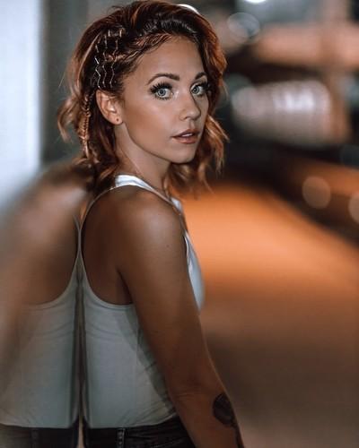 Hairstyle magazine shoot