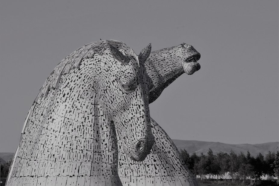 stunning sculpures in falkirk scotland