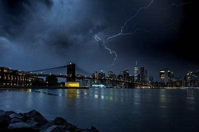 Storm in Manhattan