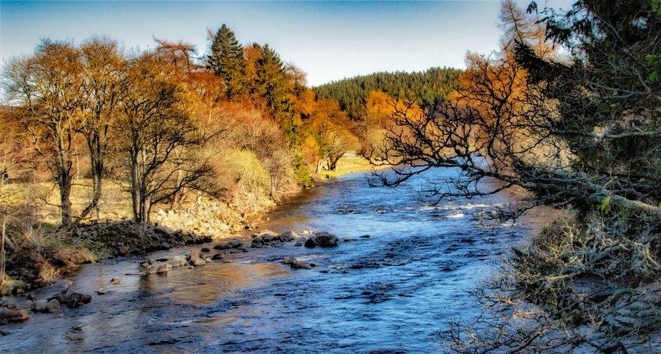 river in Balmoral