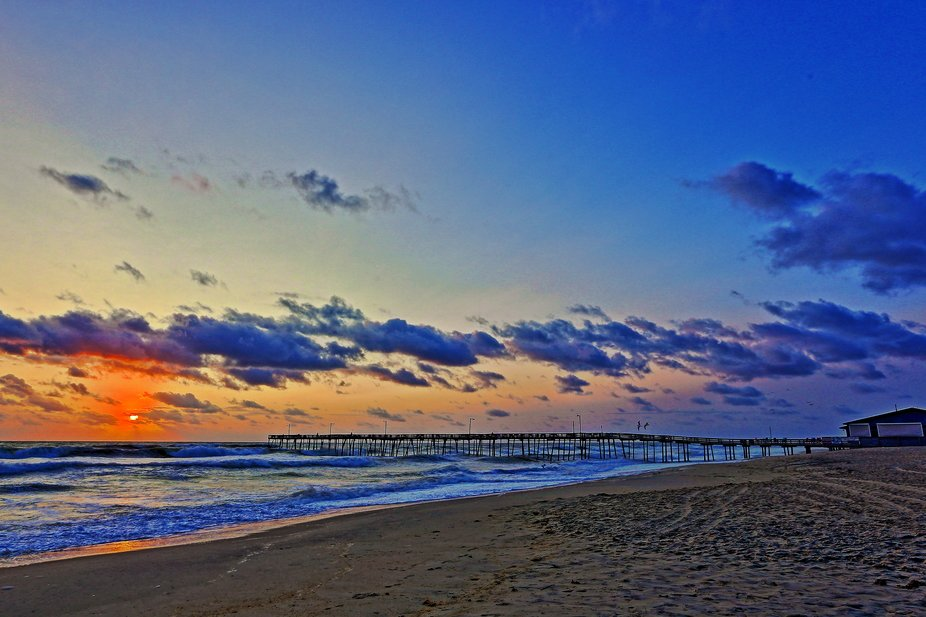 Sunrise, Nags Head Fishing Pier