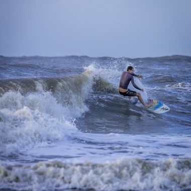 Washout Surfers- Folly Beach- 9/21/2020. These swells are from Hurricane Teddy way out in the Atlantic Ocean