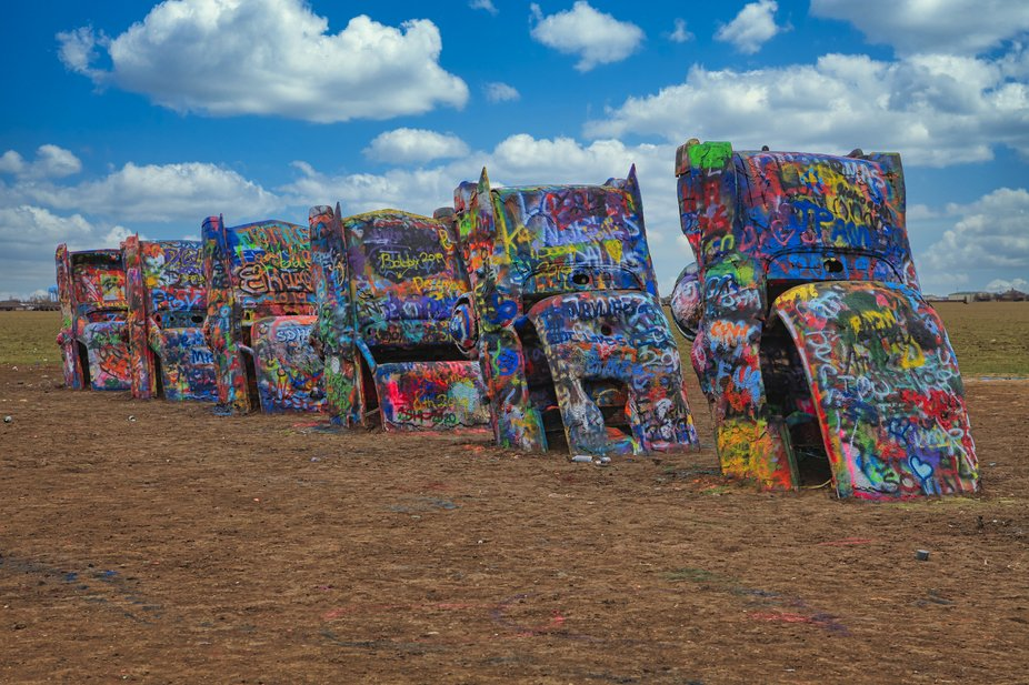 Cadillac Ranch-Route 66