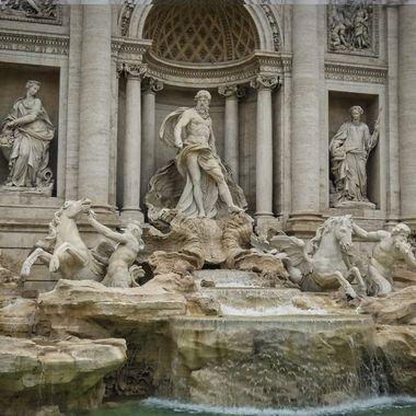 Trevi- Fountain in Rome- Italy