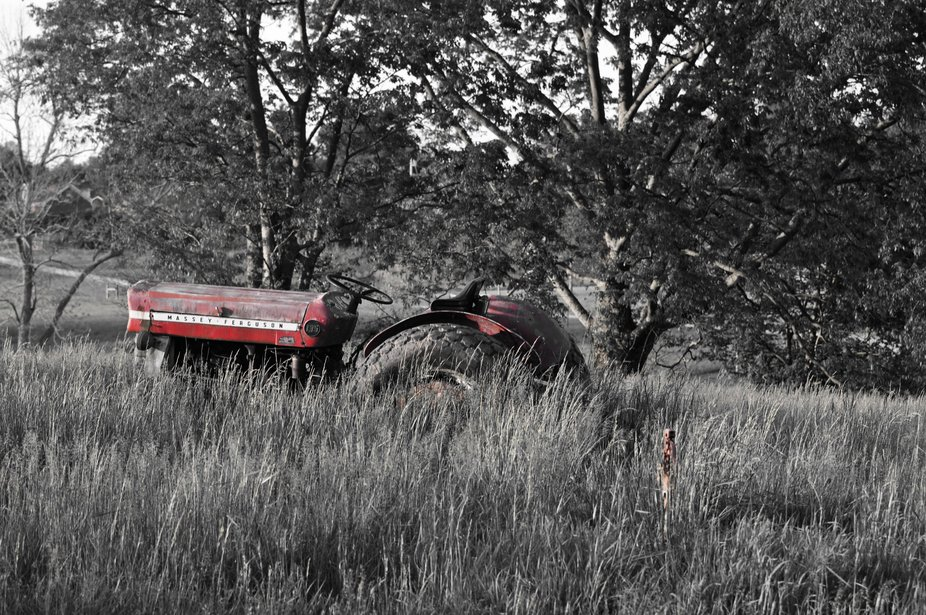 I had so much fun shooting this tractor