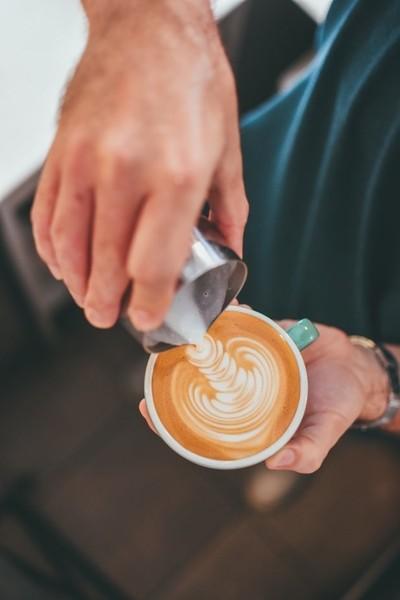 A latte work