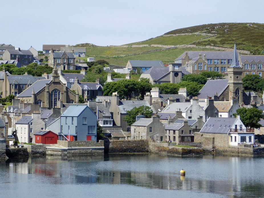 Stromness, One of the Northern Scottish Islands