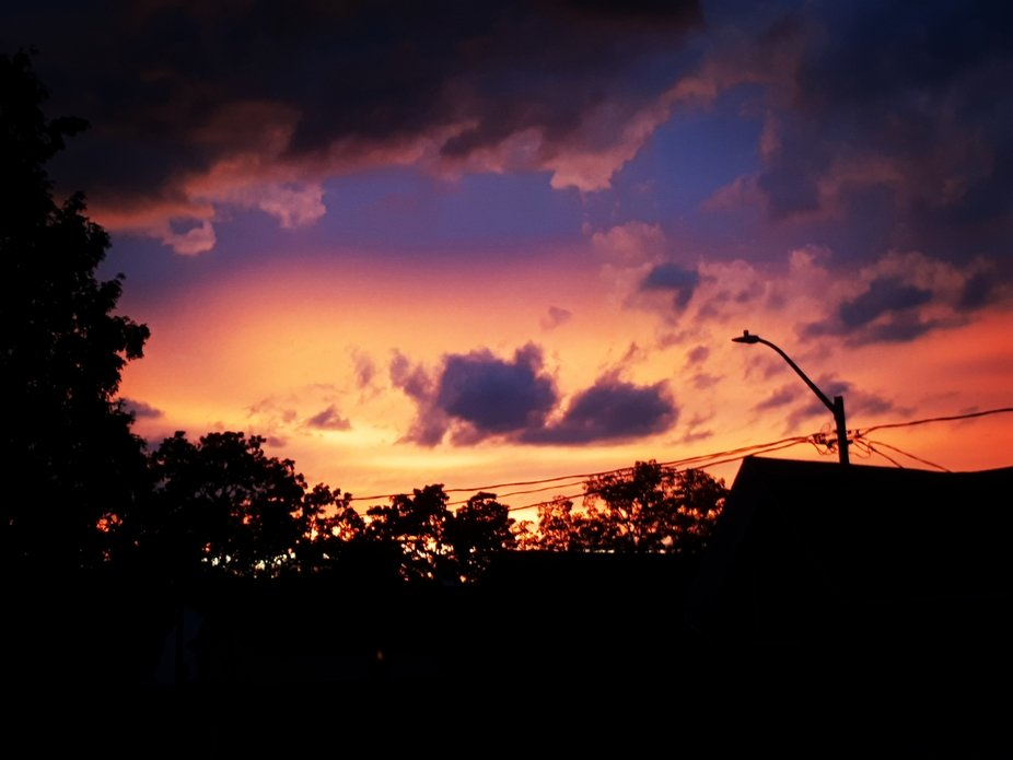 """""""Clouds come floating into my life, no longer to carry rain or usher storm, but to add color to..."""