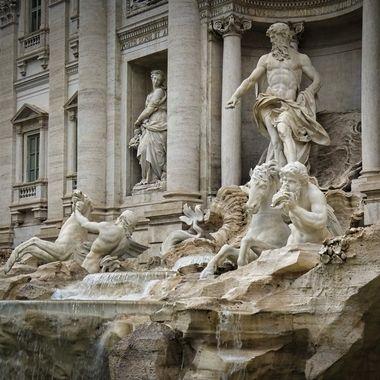 Fontana di Trevi- Rome