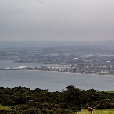 Taken from the Carrick hills above Ayr in Scotland.