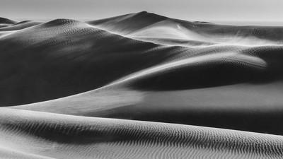 Panoramic desert