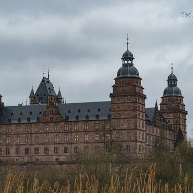 Castle in Aschaffenburg City- Germany