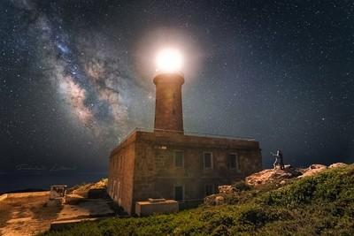 Capo Sandalo lighthouse