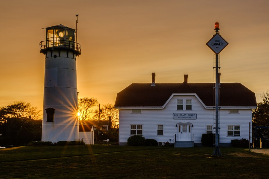 Sunset at Chatham Lighthouse