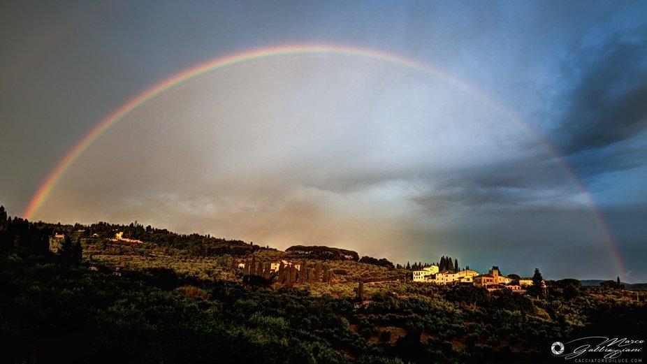 Rainbow in Settignano