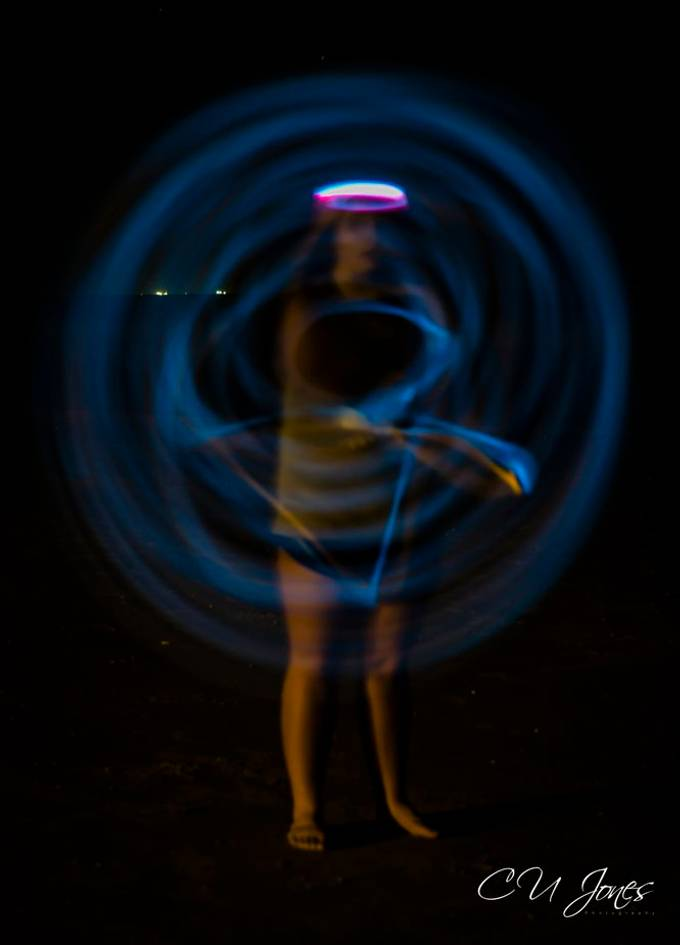 While out shooting the Milkyway, we took advantage of having 2 teenage girls with us. They gladly became my model and spinners, jumpers. These girls loved helping me make these photos.