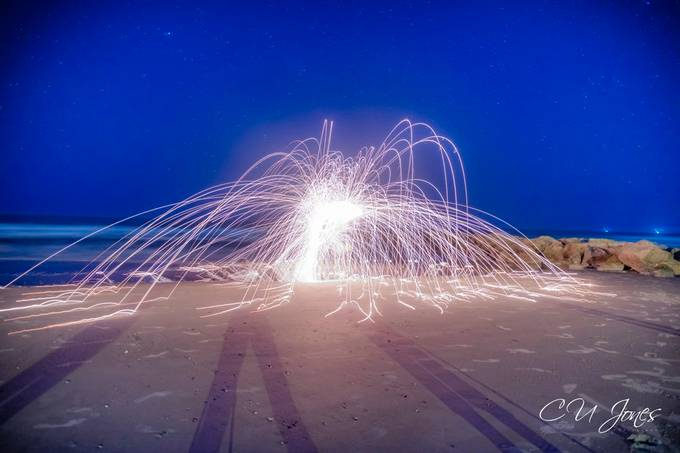 Steel wool is such an amazing thing to photograph. I love the effect that you can get.