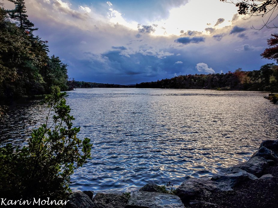 This is a scene along the trails of the beautiful Mohonk Preserves - Minnewaska State Park. It ha...