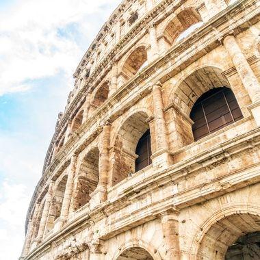 The Colosseum Rome AKA The Flavian Amphitheatre