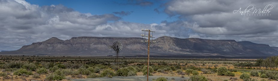Just outside Calvina in the Karoo, South Africa