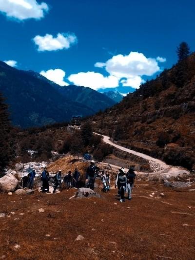 a short trek