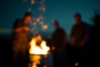 Campfire Glows