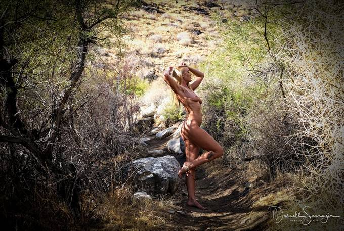 While hiking a few years back in Palm Springs with Sara Gramm