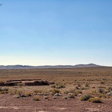 Meteor Crater near Flagstaf, view from a distance