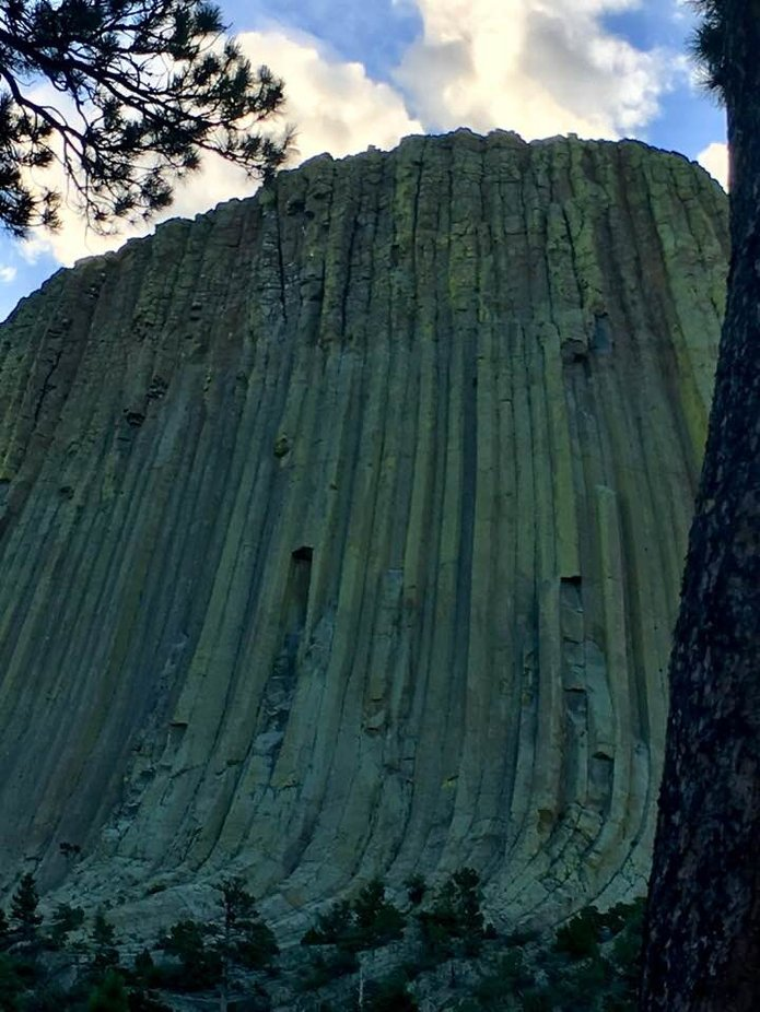 Devils Tower Wyoming thanks free national parks day!!!