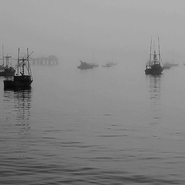 Misty Day In San Luis Port